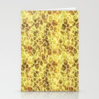 Exotic Leopard Print Stationery Cards