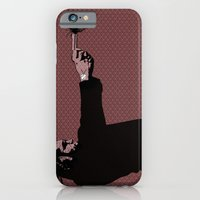 iPhone & iPod Case featuring Kittappa Series - Red by Trevor Bittinger