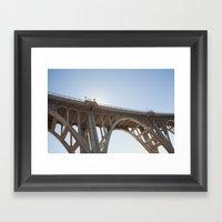 Route 66 | Colorado Street Bridge | Pasadena Framed Art Print