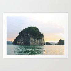 Halong Bay Art Print