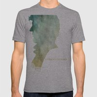 Mr. Holmes Mens Fitted Tee Athletic Grey SMALL