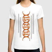 Gaming DNA Womens Fitted Tee White SMALL