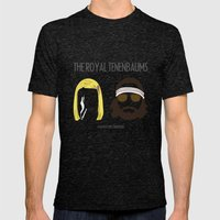 The Royal Tenenbaums Mens Fitted Tee Tri-Black SMALL