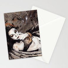 Paper Wings Turned Into Girl Stationery Cards