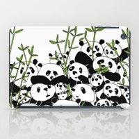 A Pandemonium of Pandas  iPad Case