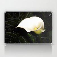 Calla Lily at Night Laptop & iPad Skin