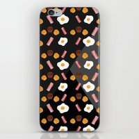 Bacon, Egg & Muffin!! -DARK- iPhone & iPod Skin