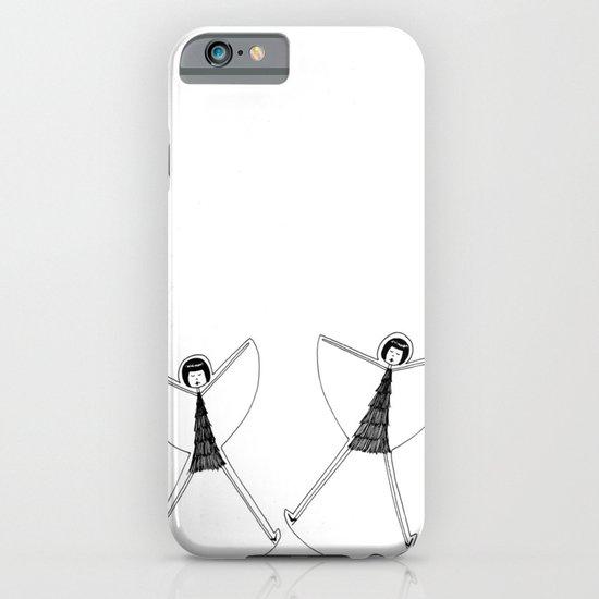 Snow angels iPhone & iPod Case