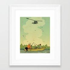 Vietnam Story 2 Framed Art Print