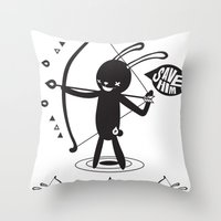 SORRY I MUST LIVE - DUEL… Throw Pillow