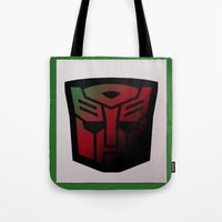 Transformers Generation 1: Rub Sign: Autobot Tote Bag