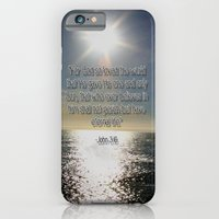 iPhone & iPod Case featuring John 3:16 by ParadiseApparel