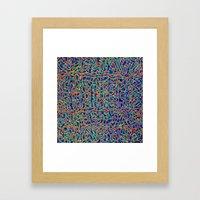 Chill Tempo Framed Art Print