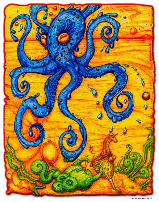 Waterpus Art Print