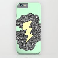 iPhone & iPod Case featuring Storm Cloud by lush tart