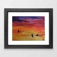 Come Join Me Framed Art Print