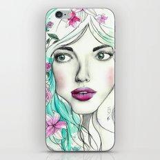 Ice Queen iPhone & iPod Skin