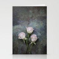 Three Roses I Stationery Cards