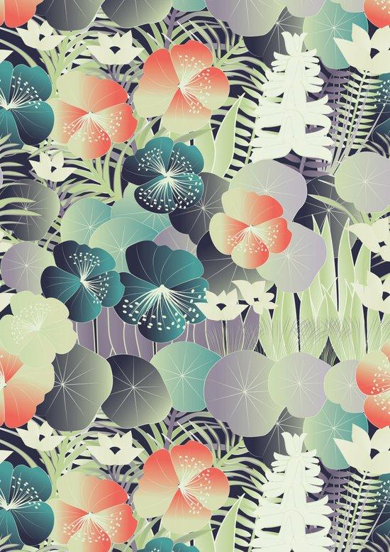 tropical mix Art Print