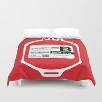 My Blood Type is B, for Best-ever! Duvet Cover