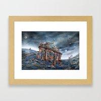 Landunter Framed Art Print