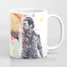 Portrait of Rick Grimes from The Walking Dead Mug