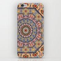 Pottery Tile Kaleidoscop… iPhone & iPod Skin