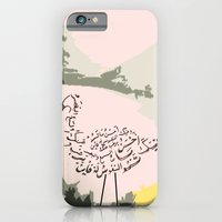 iPhone & iPod Case featuring Swan  by noudi