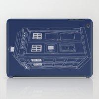Doctor Who Tardis iPad Case