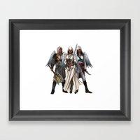 Warrior Angels Framed Art Print