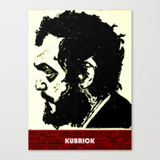 Kubrick Portrait Canvas Print