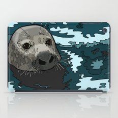 Grey Seal iPad Case