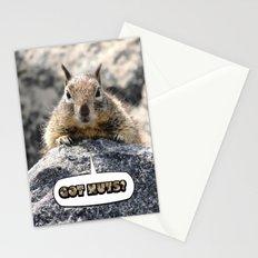 Got Nuts? Stationery Cards