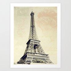 Parisian Vintage Art Print