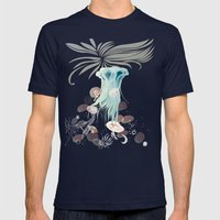 Goblet Delight Mens Fitted Tee Navy SMALL