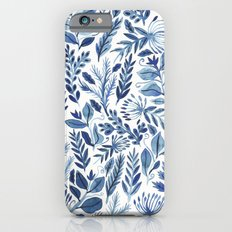 indigo scatter Slim Case iPhone 6s