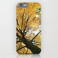 Golden Leaves Tree iPhone 6 Slim Case
