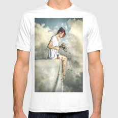 When Dreams Die Mens Fitted Tee SMALL White