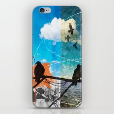 Coordinates 2 iPhone & iPod Skin
