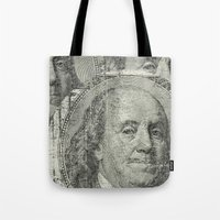 DOLLAR$ And SENSE Tote Bag