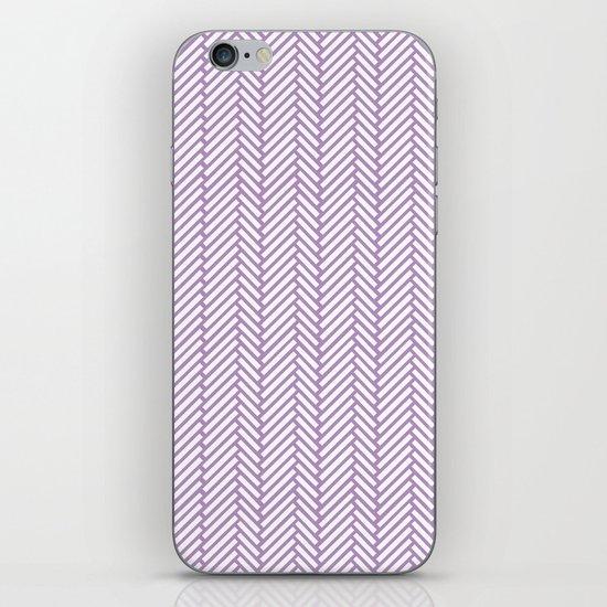 Herringbone Orchid iPhone & iPod Skin