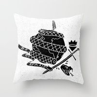 Be Not Afraid In This World Throw Pillow