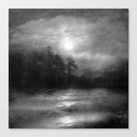 Black And White - Hope, … Canvas Print