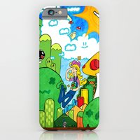 iPhone & iPod Case featuring Shroom Kingdom by Anthony Akanbi