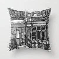 LONDON SLICE Throw Pillow