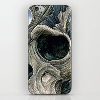 Fractal Skull iPhone & iPod Skin