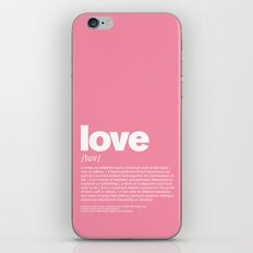 definition LLL - Love iPhone & iPod Skin