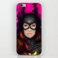 Bat Of Stone iPhone & iPod Skin