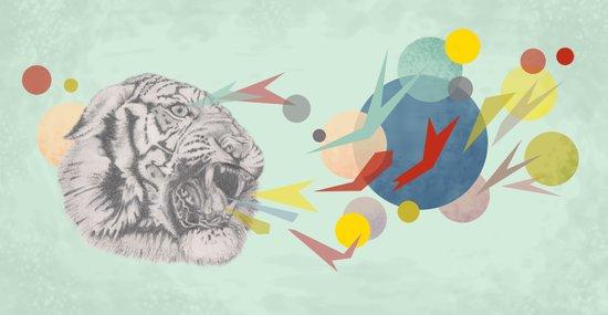 Big cats don't lie  Art Print