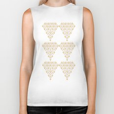 Geometric Diamond Biker Tank